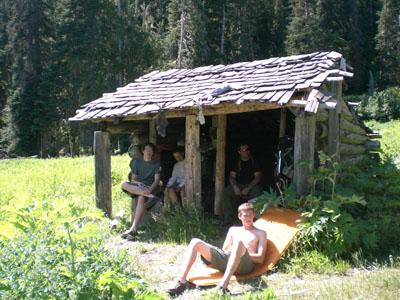 Shelter at Bear Camp