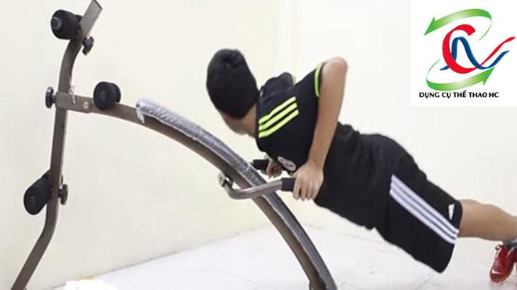 Ghế cong tập bụng giúp giảm cân an toàn