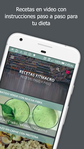 Contador de Calorías Fitmacro screenshot 8