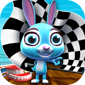 Turbo Fast Bunny Fun Run Game