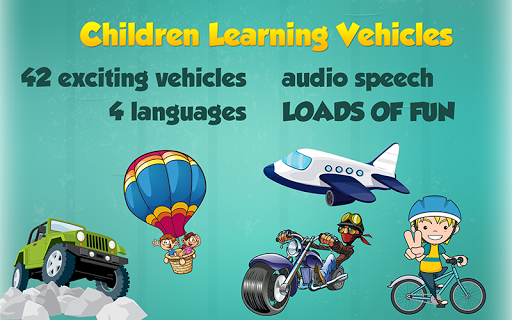Children Learning Vehicles
