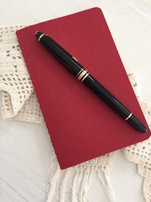 Journaling, Black Pen.