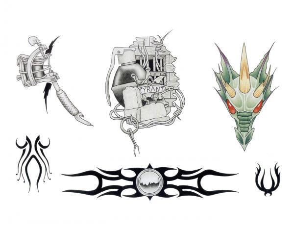Magical Tattoo Design 13, Fantasy Tattoo Designs