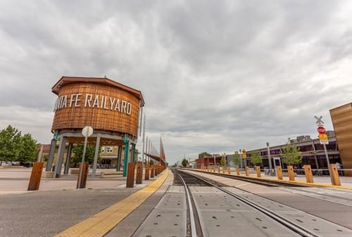 Santa Fe Railyard Route 66 New Mexico