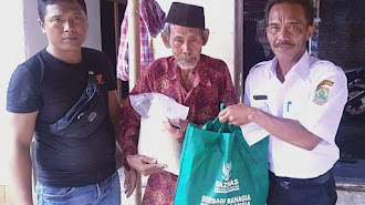 Baznas Karawang Bagi-bagi Paket Sembako di 30 Kecamatan