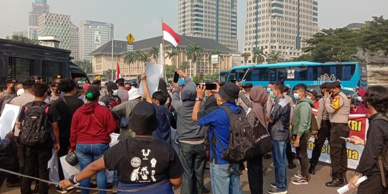 Bubarkan Aksi Pro KKB, Pemuda Cinta NKRI Tegaskan Papua Mutlak Bagian NKRI