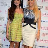WWW.ENTSIMAGES.COM -   Grace Andrews and Leah Wright   at      Filippo iOco's PINK London 2014 at Gilgamesh, The Stables Market, LondonSwiss body painter iOco throws official London launch party for Breast Cancer Awareness Month. The night is sponsored by Kryolan, and featues a fine art and body painting showcase, with all proceeds going to the Pink Ribbon Foundation.                                                Photo Mobis Photos/OIC 0203 174 1069
