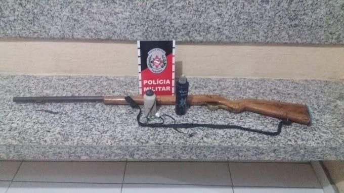 Polícia prende homem armado em São José do Sabugi