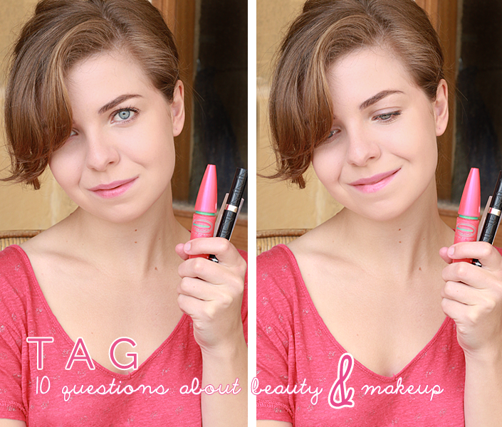 beauty tag, makeup questions, beauty habits, beauty blog, makeup advice