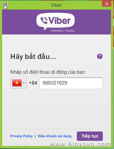 Tải, cài đặt viber cho máy tính - hd08