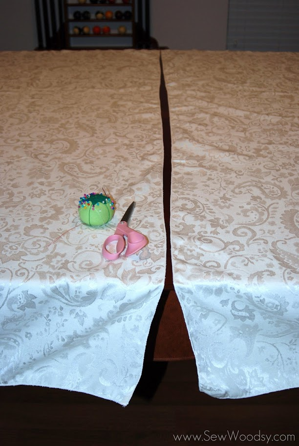 Pool Table Dining Room Tablecloth Sew Woodsy