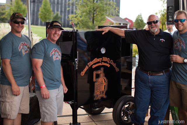 """Jim Beam Declares Bourbon Industry's Top Pitmaster At """"The Great Distillery BBQ Cook-off"""""""