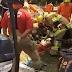 Homem cai de andaime e sofre ferimento grave em obra em Samambaia