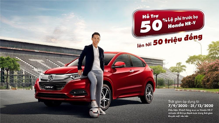 Honda HR-V 2020 khuyến mãi trong tháng 09.