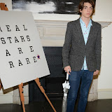 WWW.ENTSIMAGES.COM -    Sacha Bailey    arriving at    Real Stars Are Rare - launch party at Somerset House, Strand, London October 8th 2014Paul Weller launch  his 2014 menswear collection at 101 London, a space within Somerset House.                                                     Photo Mobis Photos/OIC 0203 174 1069