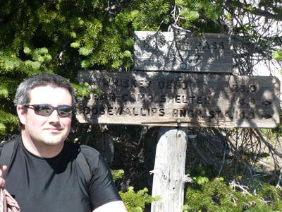 Tony made it too--5847 feet