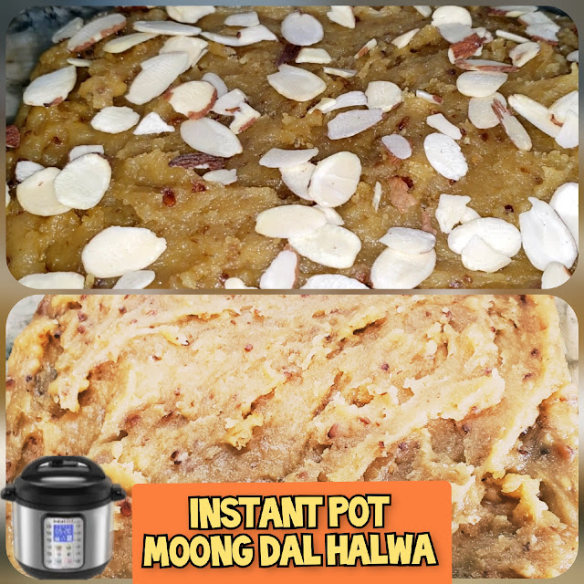 Instant Pot Moong Dal Halwa
