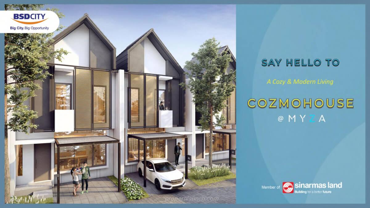 Cozmo House Myza BSD