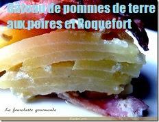 recette du gateau de pommes de terre aux poires et roquefort