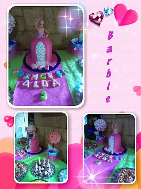 tarta barbie, tarta princesa, princess cake, tarta princesa