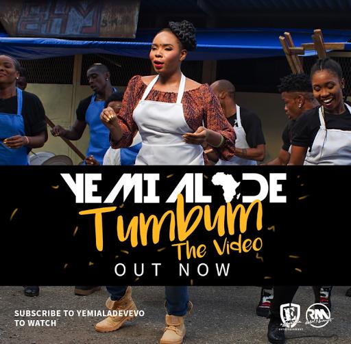 VIDEO PREMIERE: YEMI ALADE - TUMBUM (STARRING IME BISHOP & BEVERLY OSU)