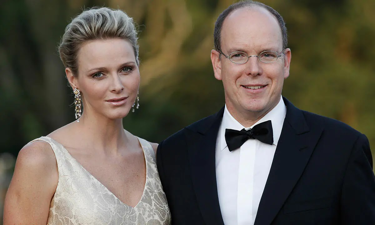 Princess Charlene of Monaco and Prince Albert in loved-up Photos