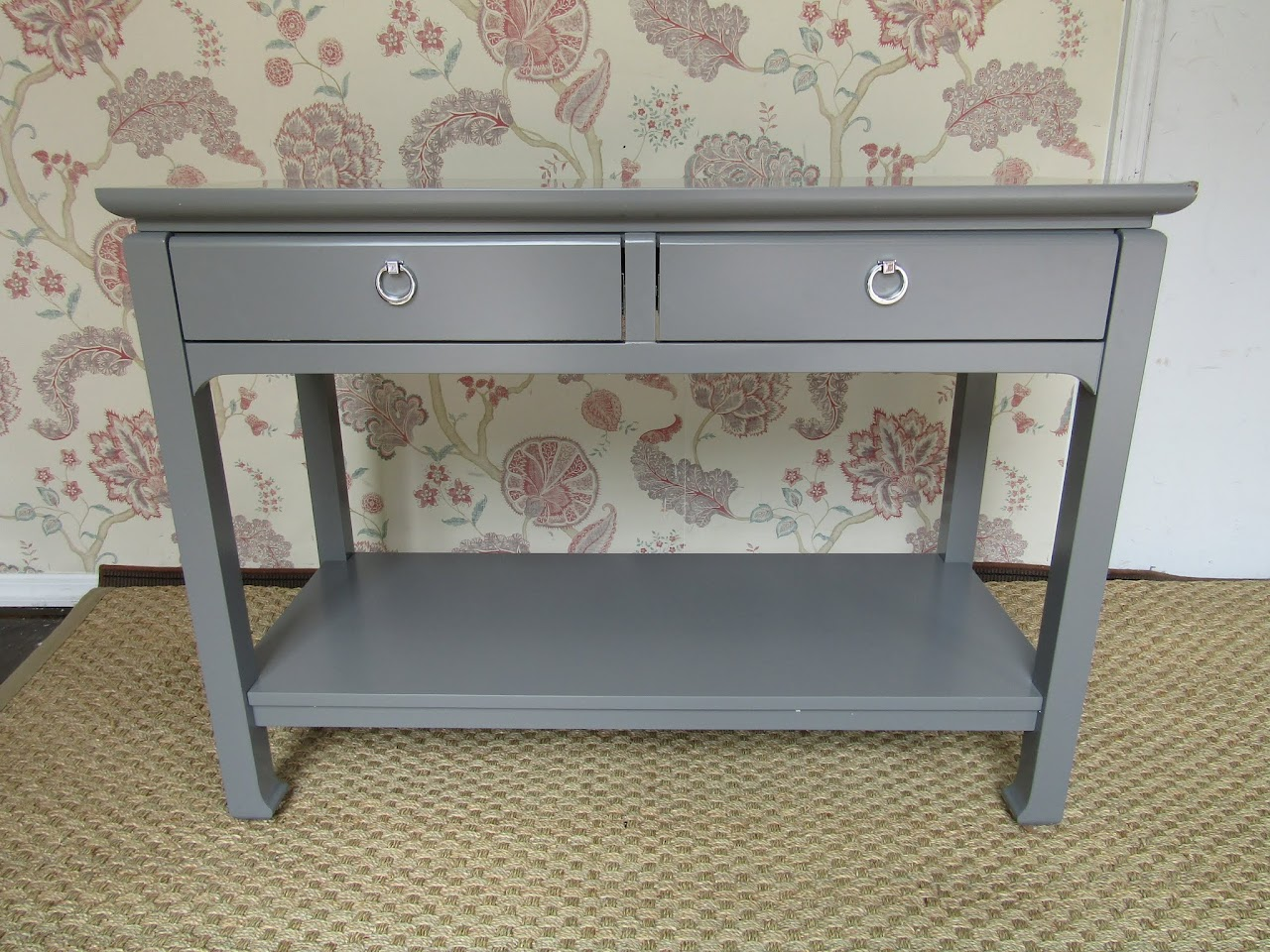 Grey Console Table 2