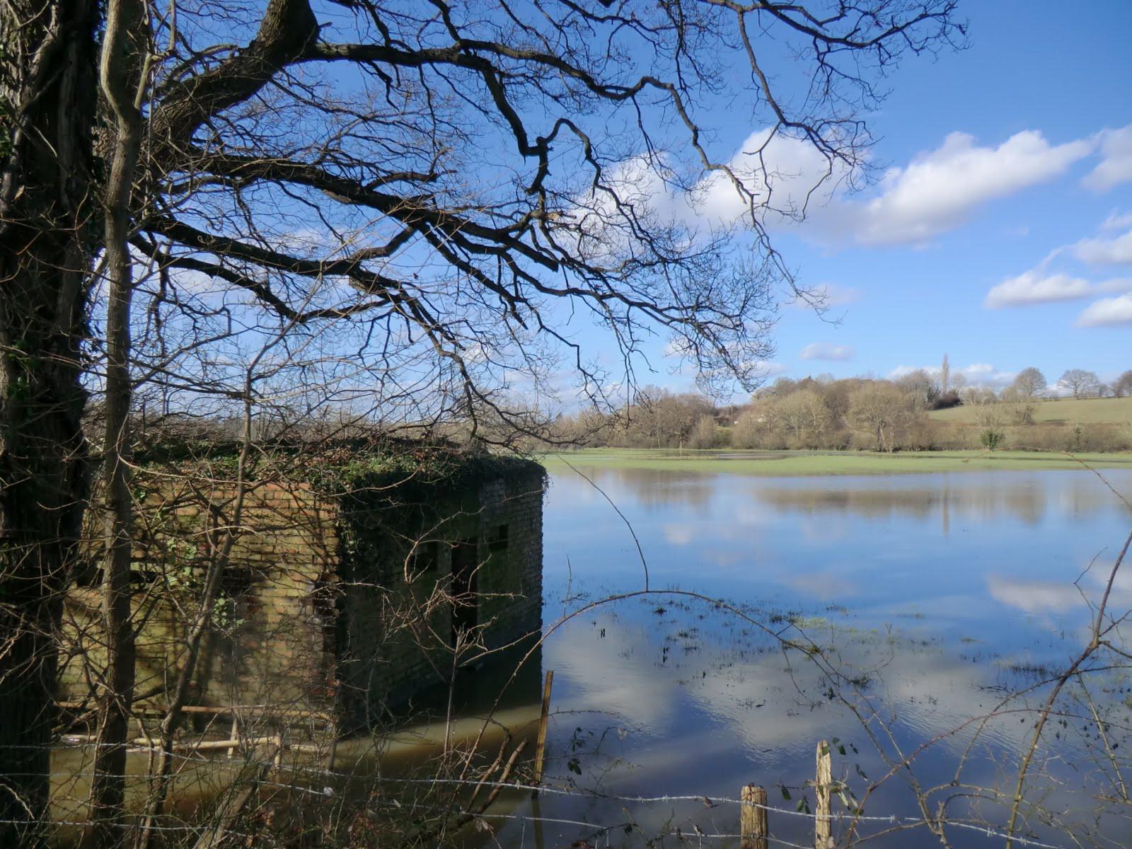 CIMG9936 Flooded fields outside Penshurst