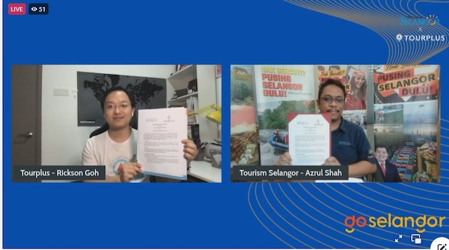 MOU Signed between Tourplus and Tourism Selangor