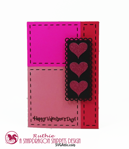 HEART CARD KIT, SnapDragon Snipptes, Ruthie Lopez