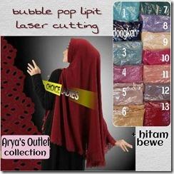 lipit bubble pop laser cutting