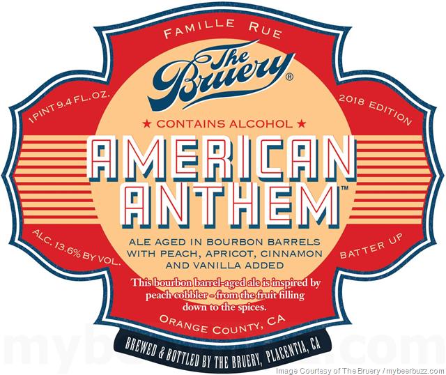 The Bruery Adding American Anthem Peach Cobbler-Inspired Ale