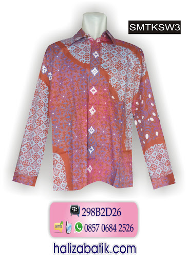 desain baju batik, baju kerja batik, model batik modern