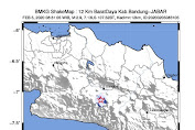 Bandung Diguncang Gempa, BMKG: Masyarakat Diimbau Tetap Tenang