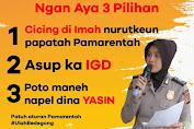 "Lagi Viral ""Ulah Bedegong Poto Maneh Nempel Dina Yasin"""