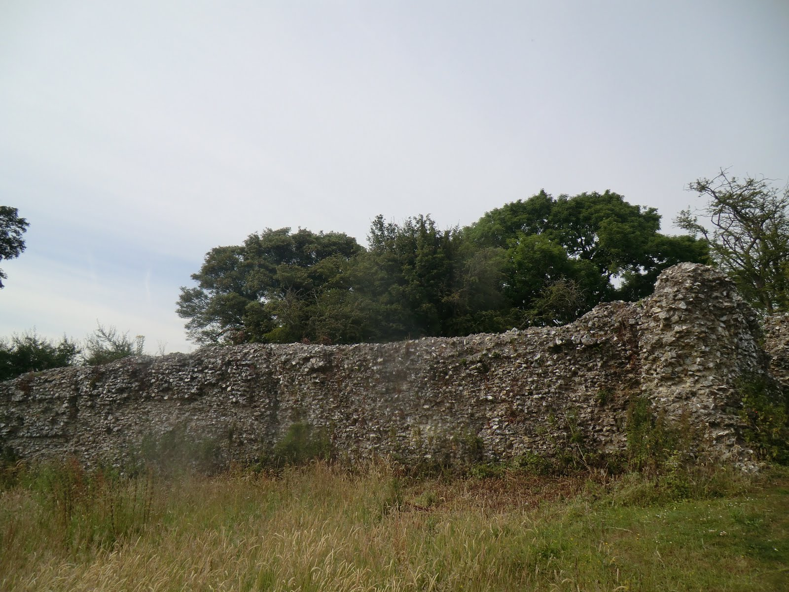 CIMG2402 Thurnham Castle ruins