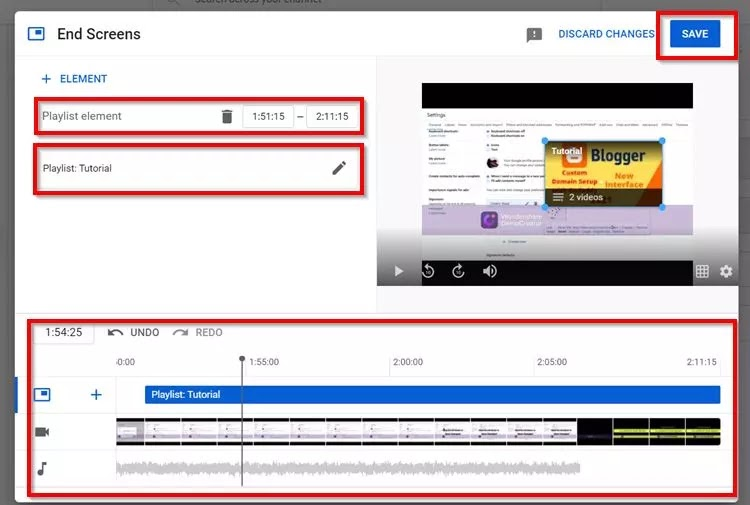 How to Implement YouTube End Screen On Published Video