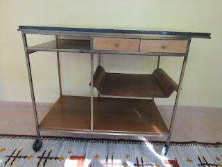 Paul McCobb Mid-Century Bar Cart