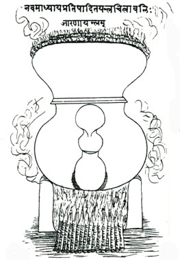Indian Alchemical Apparatus Taken From Mediaeval Manuscript 2, Alchemical Apparatus