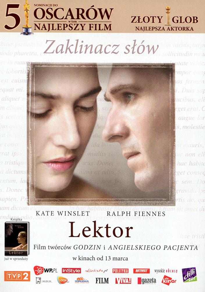 Ulotka filmu 'Lektor (przód)'