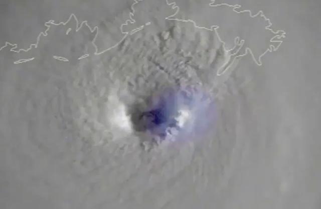 VIDEO: Así luce el ojo del huracán Ida, según imágenes de NOAA