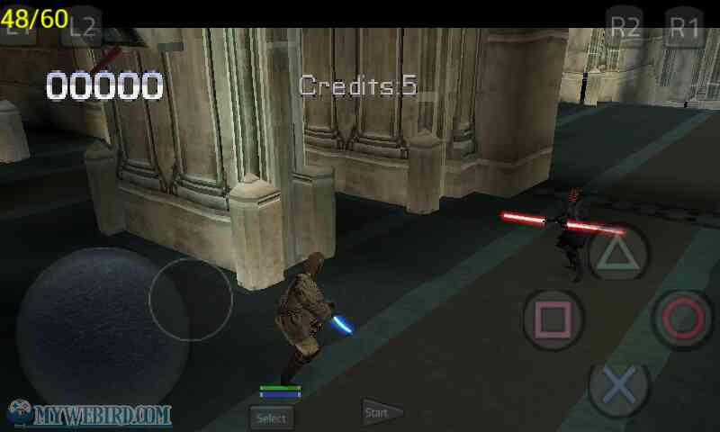 Star Wars PS1 Final Stage