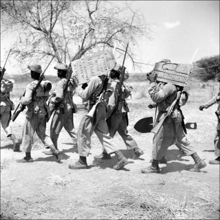 Nigéria - Segunda Guerra Mundial