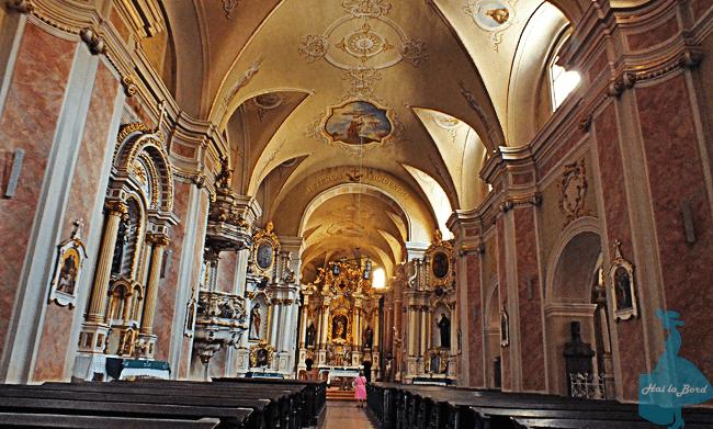 biserica franciscana cluj