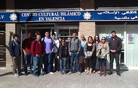 Estudiantes de EEUU visitan el Centro Cultural Islámico de Valencia (CCIV). 25/03/2013