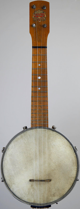 Will Van Allen Revelation Soprano Banjo Ukulele 1925