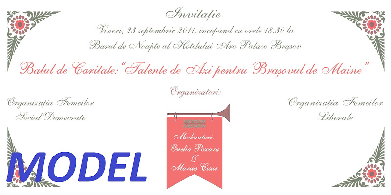 """MODEL%252520Invitatie%252520Bal%252520caritate Balul de caritate: """"TALENTE DE AZI PENTRU BRASOVUL DE MAINE"""""""