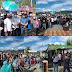 Didampingi Tokoh Masyarakat hingga Tokoh Pemuda, Kedatangan Fikar-Yos Disambut Antusias Warga Koto Padang