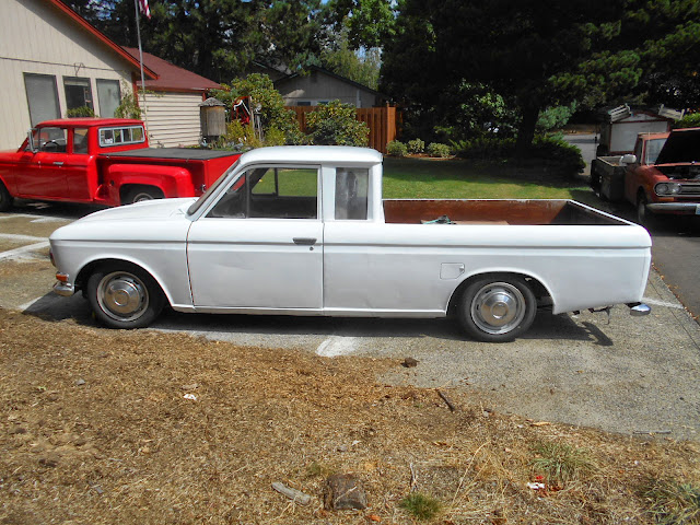 My First 71 Datsun 1600 521 Pickup Original - 521