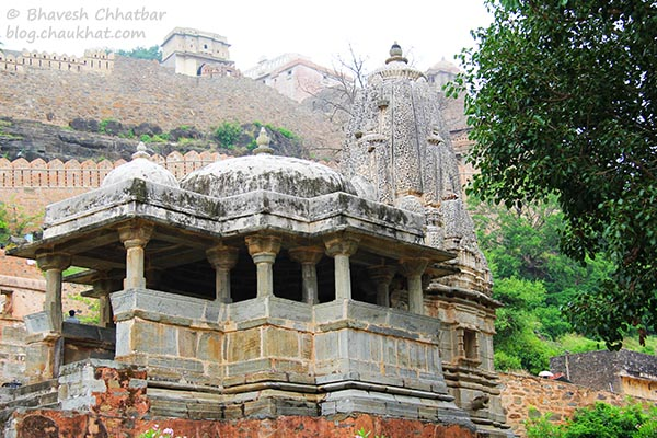 A temple at Kumbhalgarh